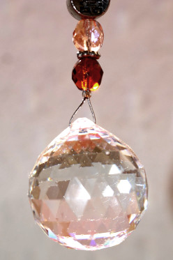 boules de cristal suspension