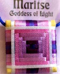 pentacle Maritsé déesse de la lumière