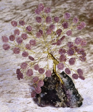arbre en améthyste