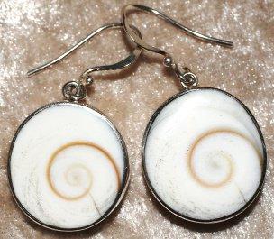 boucles d'oreille oeil de Shiva