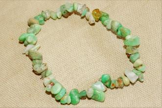 bracelet chrysophrase