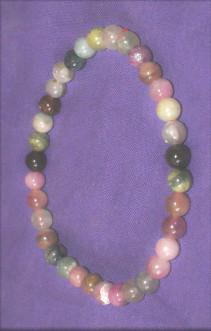 bracelet tourmaline melon