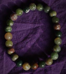 bracelet agate du Tibet 8 mm