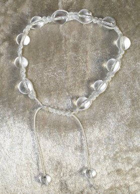 bracelet Shamballa cristal