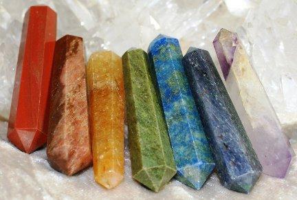 7 minéraux bi-terminés