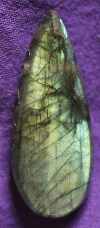 Labradorite perçée extra