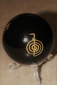 boule protectrice tourmaline noire