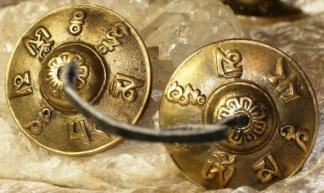 Tingsha en bronze