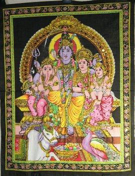 Shiva et sa Famille